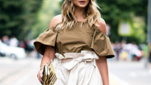 11 Stylish Ways To Work An Off-The-Shoulder Top This Spring And Summer