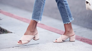 Dress Up Jeans And Shorts With Pretty Pastel Shoes This Spring