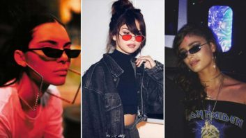 In Case You Hadn't Noticed, Every Celeb Is Wearing This 90s Sunglasses Trend