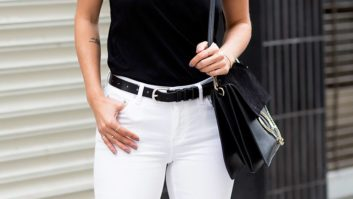 Why Wait Until Memorial Day? You Can Totally Rock White Denim Now!