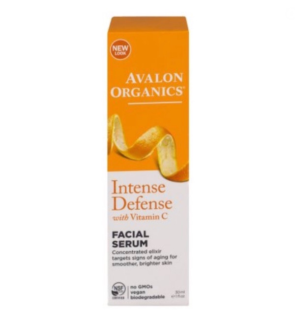 avalon organics vitamin c facial serum
