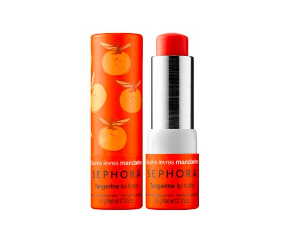 Sephora Collection tangerine lip balm
