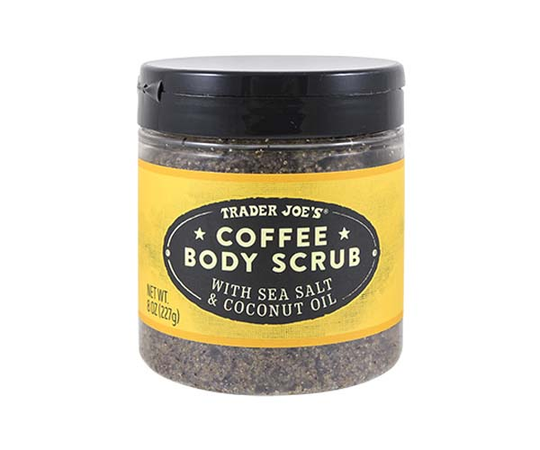 Trader Joe's coffee scrub